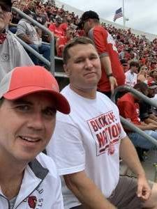 Jason  attended Ohio State Buckeyes vs. Oregon Ducks - NCAA Football on Sep 11th 2021 via VetTix