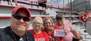 Mox Jeff Green attended Ohio State Buckeyes vs. Oregon Ducks - NCAA Football on Sep 11th 2021 via VetTix
