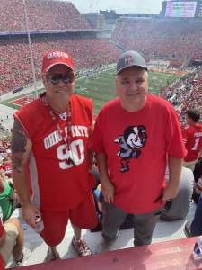 Kevin attended Ohio State Buckeyes vs. Oregon Ducks - NCAA Football on Sep 11th 2021 via VetTix