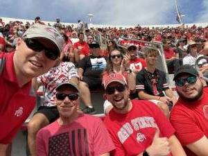 Ben attended Ohio State Buckeyes vs. Oregon Ducks - NCAA Football on Sep 11th 2021 via VetTix