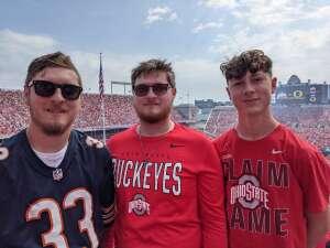 Dan H attended Ohio State Buckeyes vs. Oregon Ducks - NCAA Football on Sep 11th 2021 via VetTix