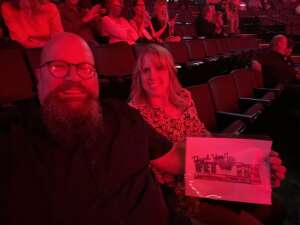 Jonathan & Carman Wildes attended An Evening With Michael Buble in Concert on Sep 13th 2021 via VetTix