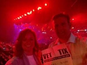 Brad attended An Evening With Michael Buble in Concert on Sep 13th 2021 via VetTix