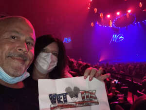 CARLOS attended An Evening With Michael Buble in Concert on Sep 13th 2021 via VetTix