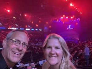 Chaplain Greg attended An Evening With Michael Buble in Concert on Sep 13th 2021 via VetTix