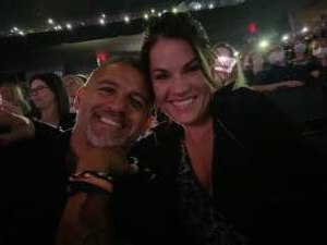 Martin attended An Evening With Michael Buble in Concert on Sep 13th 2021 via VetTix
