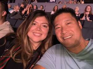 Trirata Earmsmuth attended An Evening With Michael Buble in Concert on Sep 13th 2021 via VetTix