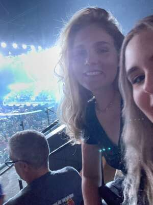 Parker attended An Evening With Michael Buble in Concert on Sep 13th 2021 via VetTix