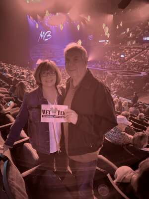 DANIEL DUPUIS attended An Evening With Michael Buble in Concert on Sep 13th 2021 via VetTix
