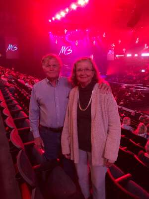 Robert  attended An Evening With Michael Buble in Concert on Sep 13th 2021 via VetTix