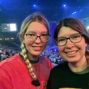 Rongey attended Blake Shelton: Friends & Heroes 2021 on Sep 18th 2021 via VetTix