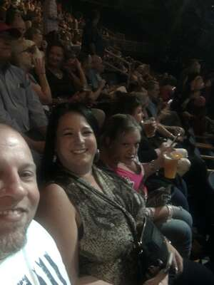 MTow attended Blake Shelton: Friends & Heroes 2021 on Sep 18th 2021 via VetTix