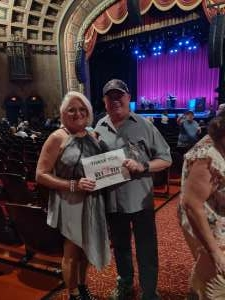 Tuck attended THE MUSIC OF BOSTON WITH TOMMY DECARLO (BOSTON SINGER SINCE 2007) AND THE MUSIC OF JOURNEY WITH AMERICAN IDOL'S RUDY CARDENAS on Sep 17th 2021 via VetTix