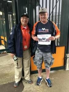 RealtorRodney.com attended Detroit Tigers vs. White Sox at Tigers - MLB on Sep 21st 2021 via VetTix