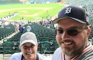Tarah Jean attended Detroit Tigers vs. White Sox at Tigers - MLB on Sep 21st 2021 via VetTix