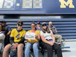 Click To Read More Feedback from University of Michigan Wolverines vs. Rutgers Scarlet Knights - NCAA Football