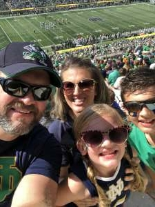 DN attended Notre Dame Fighting Irish vs. Purdue Boilermakers - NCAA Football on Sep 18th 2021 via VetTix