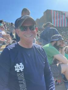 Mike attended Notre Dame Fighting Irish vs. Purdue Boilermakers - NCAA Football on Sep 18th 2021 via VetTix