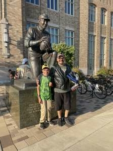GONZO attended Notre Dame Fighting Irish vs. Purdue Boilermakers - NCAA Football on Sep 18th 2021 via VetTix