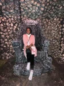 Soulymah attended Netherworld Haunted House on Sep 24th 2021 via VetTix