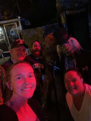 greg riddle attended Netherworld Haunted House on Sep 24th 2021 via VetTix