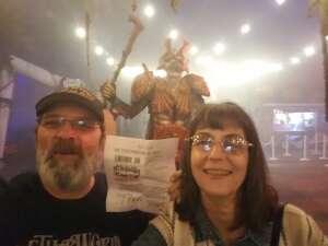Fred Martin attended Netherworld Haunted House on Sep 24th 2021 via VetTix