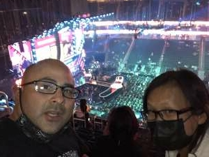 Vegas attended Iheartradio Music Festival - Cheap Trick, Darius Rucker, Dua Lipa, J. Cole, Nelly,weezer. Performances by Florida Georgia Line, Walker Hayes, Finneas on Sep 17th 2021 via VetTix