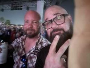 Jason Baker attended Outlaw Music Festival on Sep 19th 2021 via VetTix