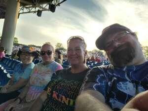 Trisha attended Outlaw Music Festival on Sep 19th 2021 via VetTix