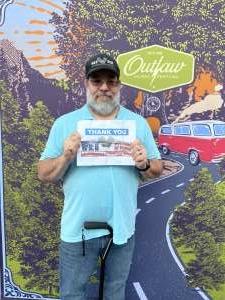 Jeff Bennett attended Outlaw Music Festival on Sep 19th 2021 via VetTix