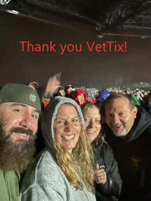 Steve attended Jason Aldean: Back in the Saddle Tour 2021 on Sep 17th 2021 via VetTix