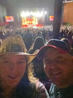 Frank Toste attended Jason Aldean: Back in the Saddle Tour 2021 on Sep 17th 2021 via VetTix