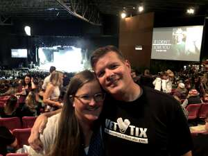 Kyle Strate attended Jason Aldean: Back in the Saddle Tour 2021 on Sep 17th 2021 via VetTix