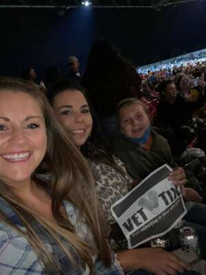 Mike attended Jason Aldean: Back in the Saddle Tour 2021 on Sep 17th 2021 via VetTix