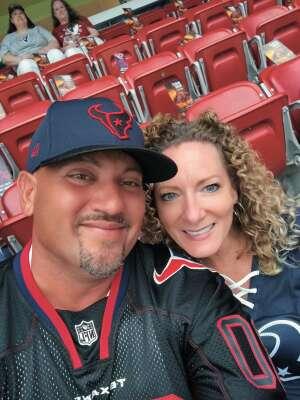 Levy attended Houston Texans vs. Carolina Panthers - NFL on Sep 23rd 2021 via VetTix