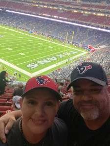 Jeremy  attended Houston Texans vs. Carolina Panthers - NFL on Sep 23rd 2021 via VetTix