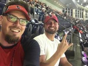 Justin G attended Houston Texans vs. Carolina Panthers - NFL on Sep 23rd 2021 via VetTix