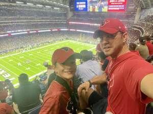 Justin attended Houston Texans vs. Carolina Panthers - NFL on Sep 23rd 2021 via VetTix