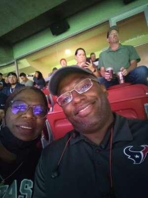 Kelvin attended Houston Texans vs. Carolina Panthers - NFL on Sep 23rd 2021 via VetTix