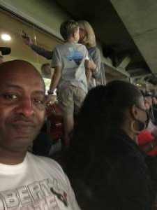 Christopher Dennis attended Houston Texans vs. Carolina Panthers - NFL on Sep 23rd 2021 via VetTix