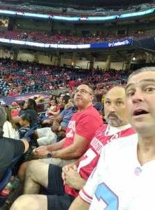 Jon Miller attended Houston Texans vs. Carolina Panthers - NFL on Sep 23rd 2021 via VetTix