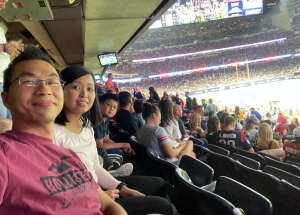 Haizu attended Houston Texans vs. Carolina Panthers - NFL on Sep 23rd 2021 via VetTix