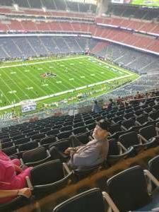 Tom attended Houston Texans vs. Carolina Panthers - NFL on Sep 23rd 2021 via VetTix