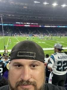 Chester attended Houston Texans vs. Carolina Panthers - NFL on Sep 23rd 2021 via VetTix