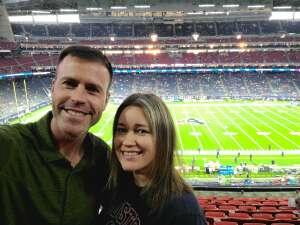 Prime Power attended Houston Texans vs. Carolina Panthers - NFL on Sep 23rd 2021 via VetTix