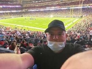 Frizzelljr  attended Houston Texans vs. Carolina Panthers - NFL on Sep 23rd 2021 via VetTix