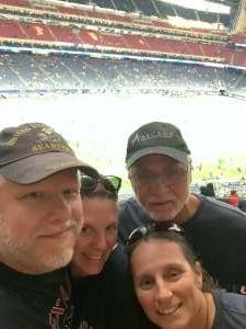 Tim Hubbard attended Houston Texans vs. Carolina Panthers - NFL on Sep 23rd 2021 via VetTix