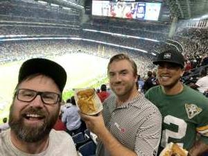Nick Ralls attended Houston Texans vs. Carolina Panthers - NFL on Sep 23rd 2021 via VetTix