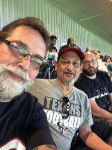 Bob Stuart attended Houston Texans vs. Carolina Panthers - NFL on Sep 23rd 2021 via VetTix