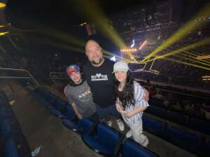 Troy Wittenmyer attended The Dude Perfect 2021 Tour on Sep 23rd 2021 via VetTix